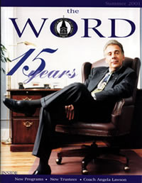 The Word Online Fall 2001
