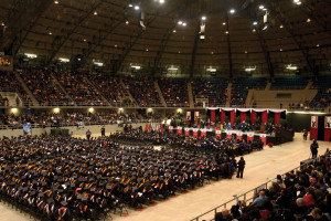Seven hundred twenty-three students participated in the graduation held on Dec. 8 in the Joe and Harry Freeman Coliseum.