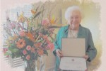 Pinner celebrates her 90th birthday and a scholarship honoring her and her husband.