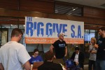 HEBSBA students assist with this year's Big Give San Antonio.
