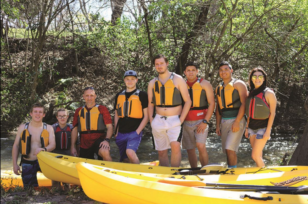 Off the Beaten Path: UIW Kayak Class takes to the River