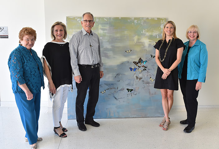 Soaring and Serving: UIWSOM's Work of Art Tells a Story
